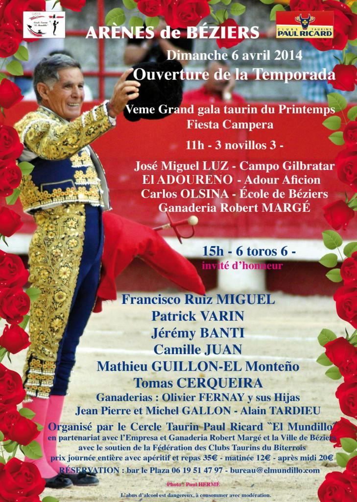 affiche el mundillo 2014