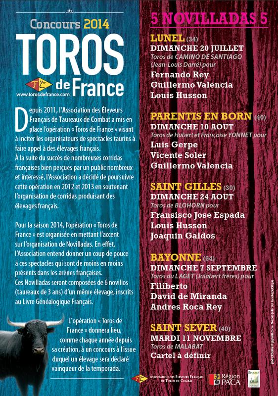 TOROS DE FRANCE
